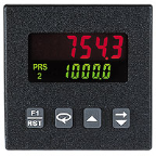 Red Lion, C48 2 Preset Counter W/Prescaler, C48CP115, DC, 2 Preset, Backlit, NPN OC, SER