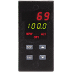 Red Lion, 1/8 Din Temperature Control Units, TCU11002, w/NEMA 4X, Cooling, Alarm and Analog