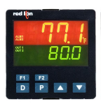 Red Lion 1/4 DIN Size PXU31AE0 Control, 20MA, Relay,485,USR,DC