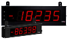"LD Large Displays 2.25"" & 4"" High Red LED digits in 4 or 6 digit versions"